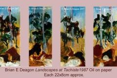 landscapes at tachiste