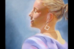 Mandy (girl with square earring)...